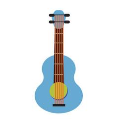 Pop art guitar cartoon vector