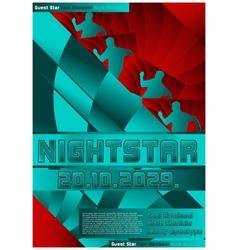 sport event poster design soccer vector image