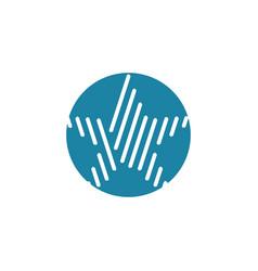 star logo design inspiration vector image