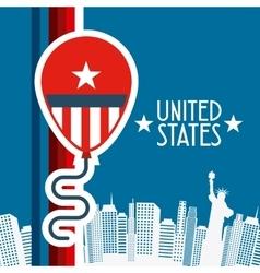 United states emblem vector