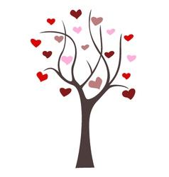 love tree icon vector image