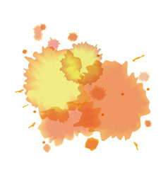 splash watercolor texture design vector image