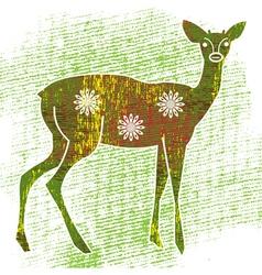 young deer vector image vector image