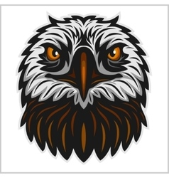 Eagle head mascot vector