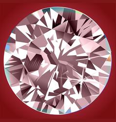 Abstract pink diamond backlight mural interior vector