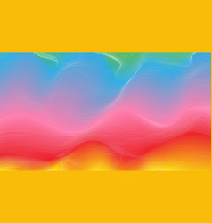 abstract wave-shaped color background vector image