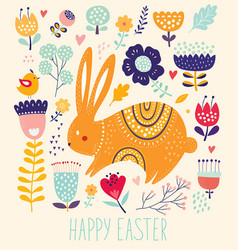 cute bunny vector image