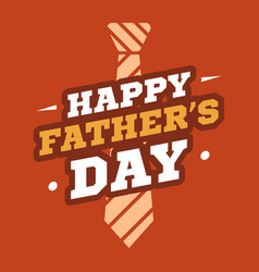 father day background card red vector image