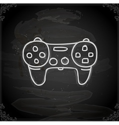 Hand drawn controller vector