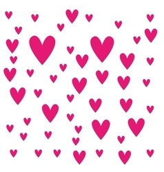 heart love pattern icon vector image