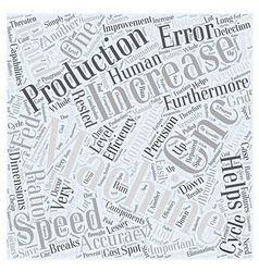 How cnc helps companies word cloud concept vector