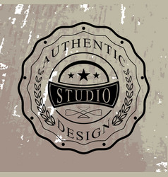 Isolated badge for you design vector