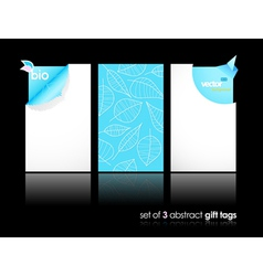 modern gift cards vector image