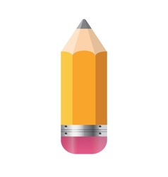 Pencil Isolated on White Background vector image