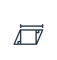 Rhomb icon rhomb editable stroke rhomb linear vector