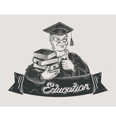 School college university logo design vector