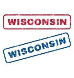 Wisconsin Rubber Stamps vector