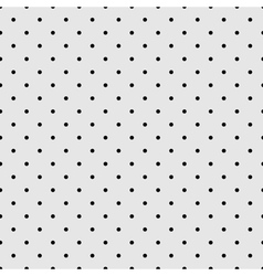 Seamless black and grey pattern or tile background vector image