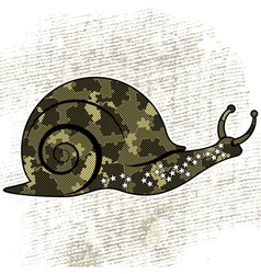 snail vector image vector image