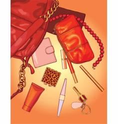 Woman bag vector