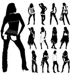 fashion women vector image vector image