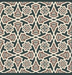 morocco arabic seamless pattern vector image