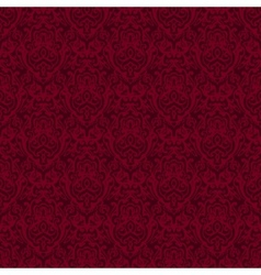 damask seamless pattern background texture vector image