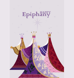 Epiphany is a christian festival vector