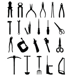 Industrial tools vector