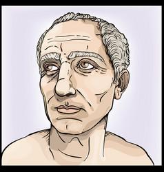 Julius caesar vector