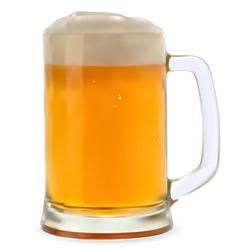 Mug beer vector