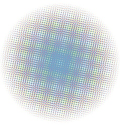 Optical dots radial gradient vector