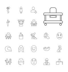 Person icons vector