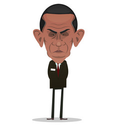 President obama character vector