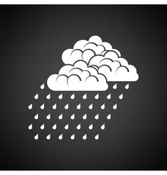 Rainfall icon vector image