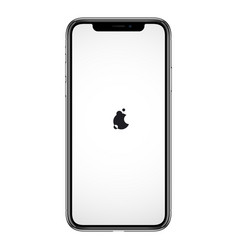 Smartphone similar to iphone phone vector