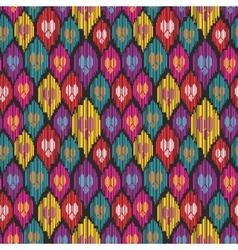 Uzbekistan pattern vector