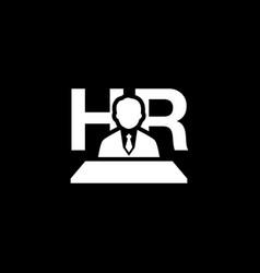 Recruitment icon flat design vector