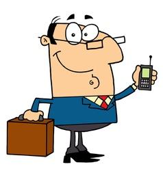 Modern Businessman vector image vector image