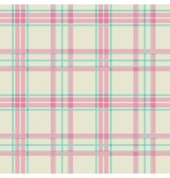 Textured tartan plaid seamless pattern vector