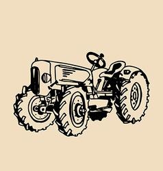 Vintage car design vector image vector image