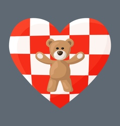 Croatian Teddy Bears vector image vector image