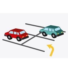 parking design vector image