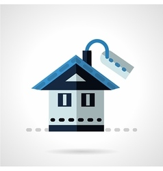 Property for sale flat icon vector image