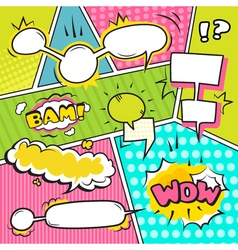Speech Bubble Banners Set vector image