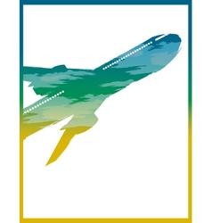 Flight sign vector