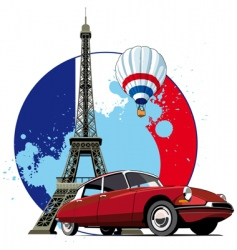 French style vector image vector image