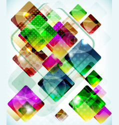Abstract technology background vith falling vector
