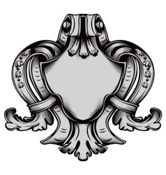 Antique emblem vector image