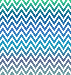 Blue and green chevron pattern background vector
